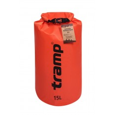 Гермомешок Tramp PVC Diamond Rip-Stop TRA-112-orange 15л оранжевый
