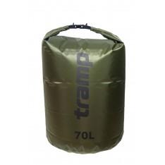 Гермомешок Tramp PVC Diamond Rip-Stop TRA-209-olive 70л оливковый