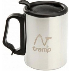 Термокружка с поилкой Tramp TRC-018 300мл серый