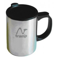 Термокружка с поилкой Tramp TRC-019 400мл серый