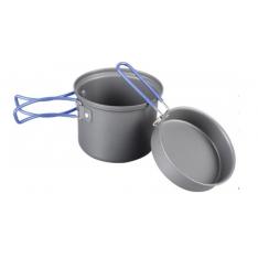 Кастрюля-кружка анодированная с крышкой-сковородкой Tramp TRC-039 0,9 л