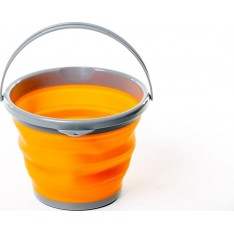 Ведро складное силиконовое Tramp TRC-091-orange 10 л