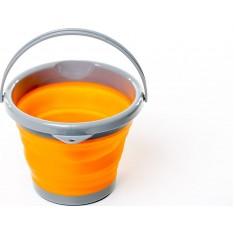 Ведро складное силиконовое Tramp TRC-092-orange 5 л