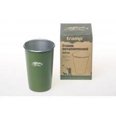 Стакан металлический Tramp TRC-099-oliv 450 мл оливковый