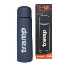 Термос Tramp Basic серый 0,75 л TRC-112-grey