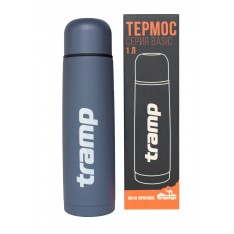 Термос Tramp Basic серый 1 л TRC-113-grey