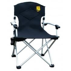 Кресло раскладное Tramp TRF-004 с уплотненной спинкой и жесткими подлокотниками
