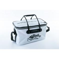 Сумка рыболовная Tramp Fishing bag EVA TRP-030-White-M белая