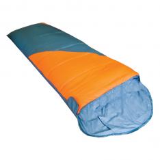 Спальный мешок Tramp Fluff TRS-037 оранжевый/серый