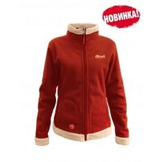 Женская куртка Tramp Бия TRWF-001-BA беж, алый