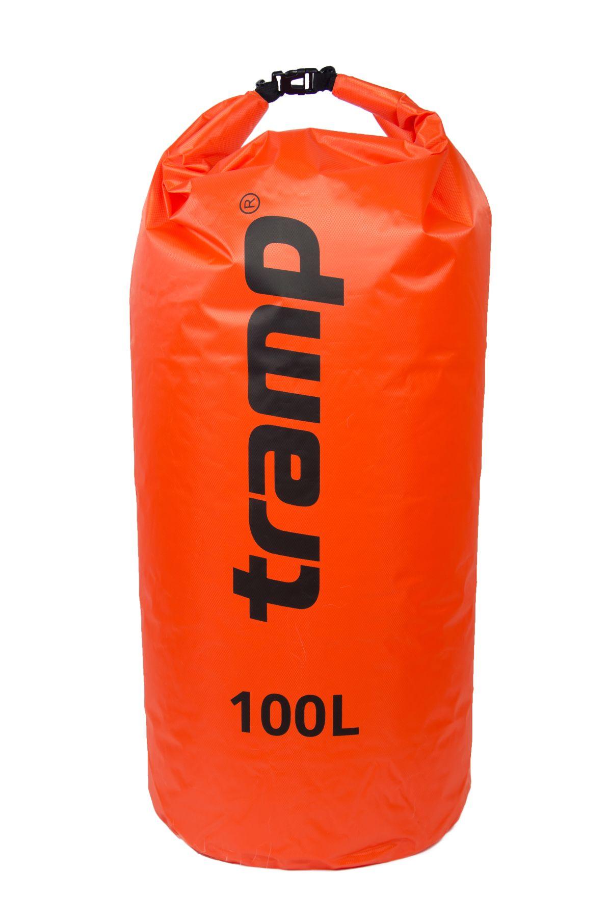 Гермомешок Tramp PVC Diamond Rip-Stop TRA-210-orange 100л оранжевый