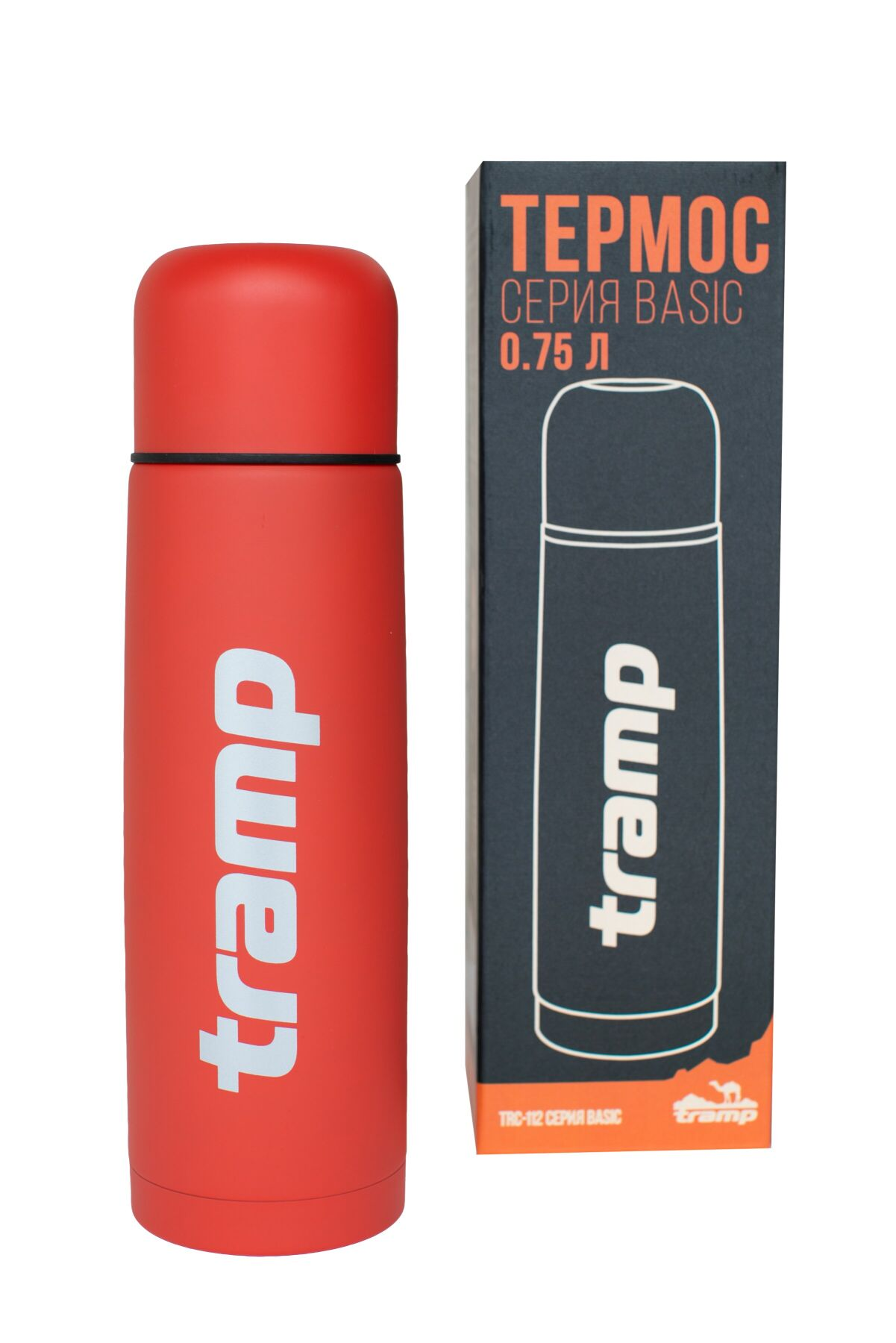 Термос Tramp Basic красный 0,75 л TRC-112-red