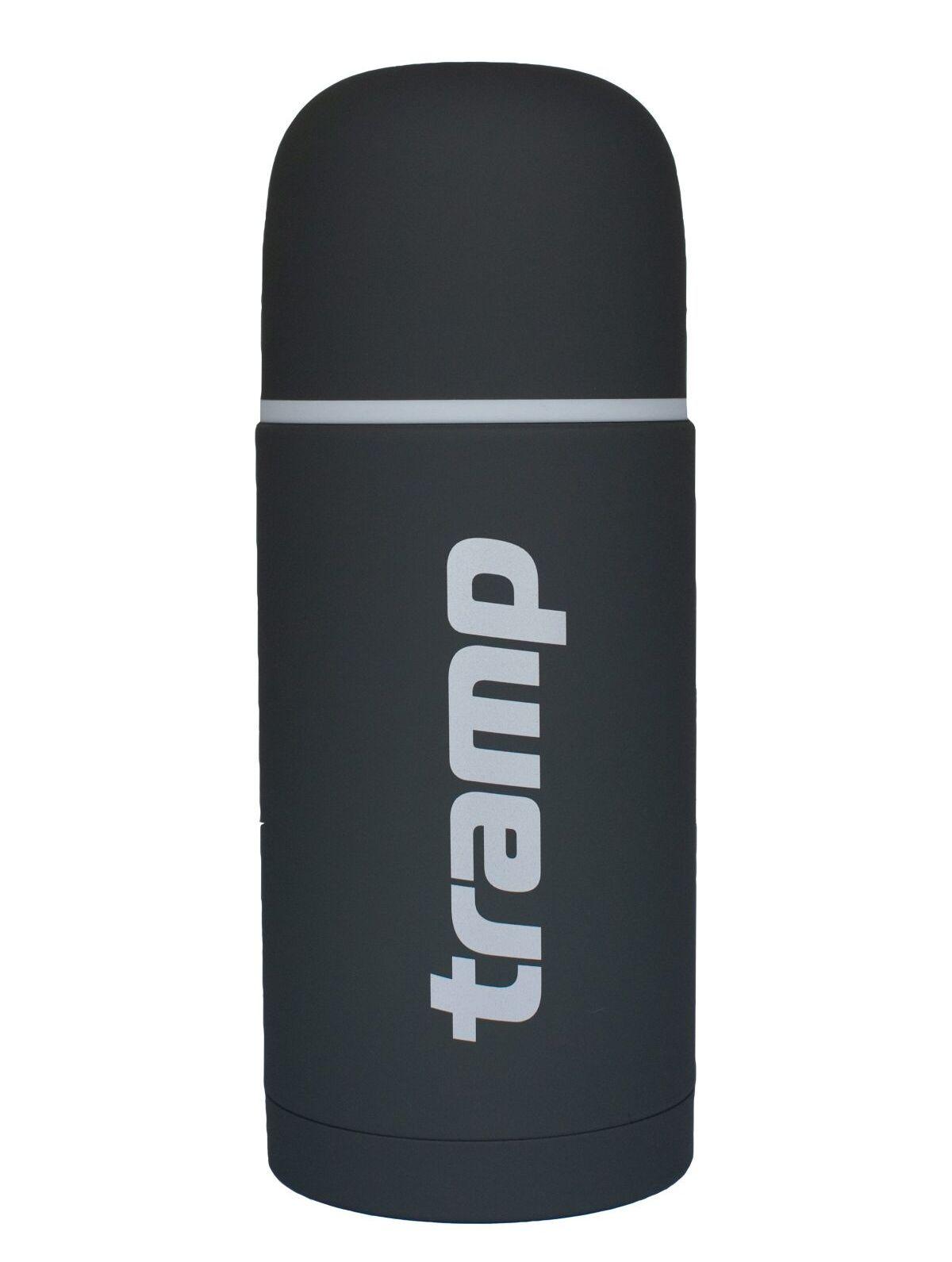 Термос Tramp Soft Touch TRC-109-grey 1 л.  серый